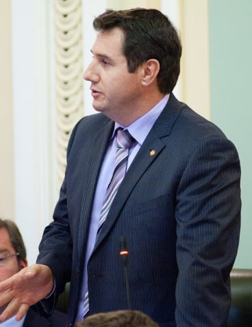 Member for Glasshouse Andrew Powell backed the need for the duplication of the Beerburrum to Nambour rail line.