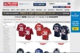 Popular: Hayne was the top seller on the NFL's online store on Monday morning.