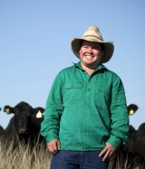 GPS, apps and smartphones are the farmers' new tools, says farmer Cameron Ward, of Gunnedah.