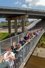 Teachers, students and parents from Strathmore Secondary College  opposed the CityLink/Tullamarine widening project.