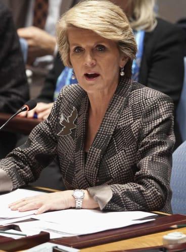 Julie Bishop: Obama overstated climate change threat to Great Barrier Reef.