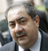 Iraq's Finance Minister Hoshiyar Zebari in 2007.