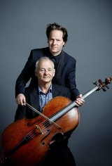 Bill Murray and cellist Jan Vogler met in  the security queue at Berlin airport.