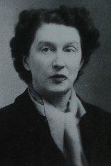 The author Christina Stead.