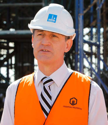 Lord Mayor Cr Graham Quirk.
