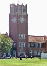 Geelong Grammar School's Corio campus, on the outskirts of Geelong.
