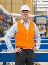 Capral plant manager Sven Gade.