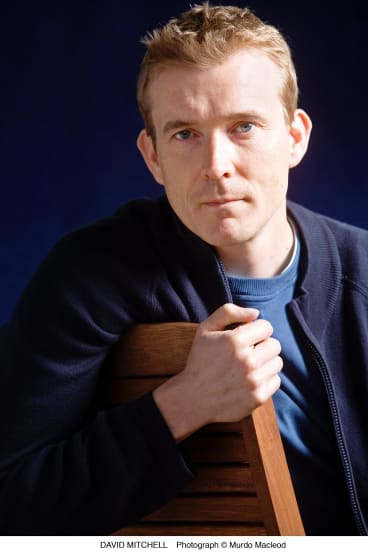British author David Mitchell is wary of making predictions about the reception his Future Library work will receive.