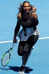 Fierce competitor: Serena Williams.