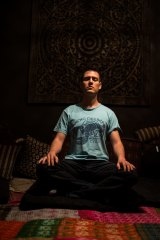 Google employee Diego Montejo in the organisation's meditation room.