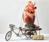 Artist Bai Yiluo's work Recycling.