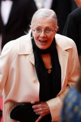 """What's going to happen to us when it's our turn if we don't help anybody?"": Vanessa Redgrave takes Sea Sorrow to the Cannes Film Festival."