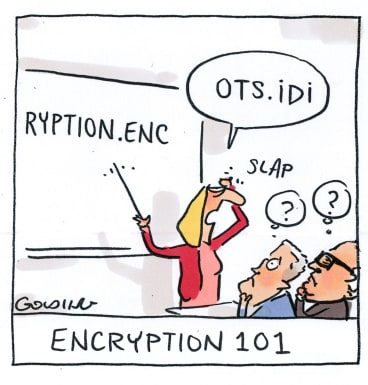 The Australian government plans to break the end-to-end encryption offered by apps such as WhatsApp. Illustration: Matt Golding