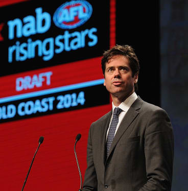 Gillon McLachlan and the AFL must need every bit of financial help they can get.