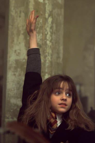 The Hermione Grainger effect: teachers are discouraging children from raising their hands
