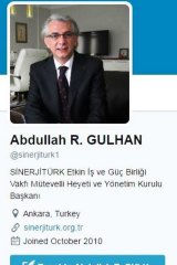 """Staff profiles on TheUniTutor's website were fake – a photo of """"general manager and former London School of Economics lecturer"""" Frank Delaney is actually that of Turkish engineer Abdullah R. Gulhan."""