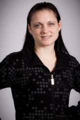 Australian aerial hoop performer Lisa Skinner.