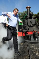 Premier Denis Napthine says coal will remain an important industry in Victoria for decades to come