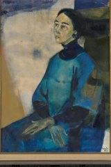 A 1966 portrait of Marea Gazzard by Judy Cassab.