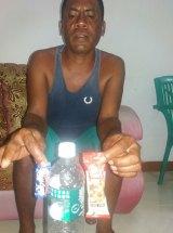 Fisherman Gab Oma returned the asylum-seekers to Indonesia.