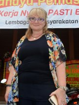 """""""I just needed to be near people who understood"""": Melbourne pastor Christie Buckingham in Kerobokan for the second anniversary of the executions."""