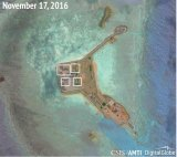 Another view from the series of images from Gavan Reef, Hughes Reef and Johnson Reef in the South China Sea.