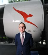 Qantas chief Alan Joyce.