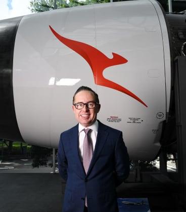 Qantas chief Alan Joyce.