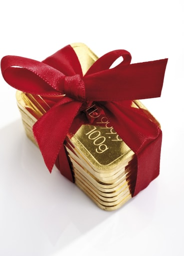 Buyers can easily reap profits of $1500 to $2500 a kilogram of gold.