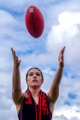 Laura Macdonald says had it not been for the launch of AFLW, she would be playing netball.