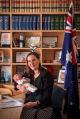 Kelly O'Dwyer in her office on Friday.