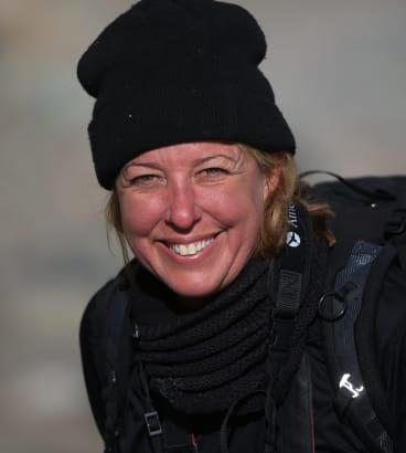 Australian photographer Inger Vandyke.