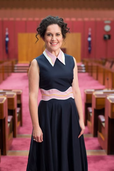 Annabel Crabb is launching the Singed Sisters' cookbook in Canberra on Saturday.