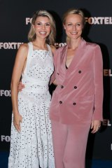Favourites: Abby Earl (left) and Marta Dusseldorp from <i>A Place to Call Home.</i>