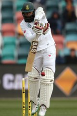 South Africa's Hashim Amla has defended his captain Faf du Plessis