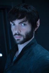 Ethan Peck as Spock in season 2 of Star Trek: Discovery.