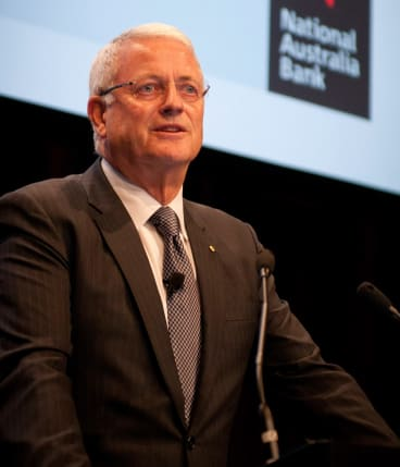 Mr Chaney told NAB's annual general meeting in Perth the company's share price performance over the decade he had been chairman was due to two separate consequences for NAB of the global financial crisis.
