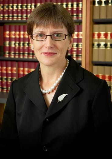 High Court judge Justice Michelle Gordon is married to Kenneth Hayne.