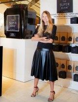 Elle Macpherson launching her new 'Super Elixir'.