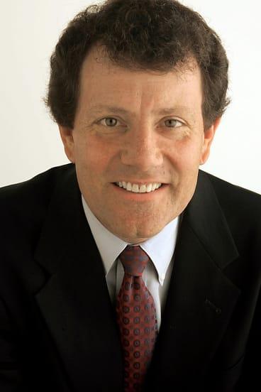 Nicholas Kristof of the New York Times.