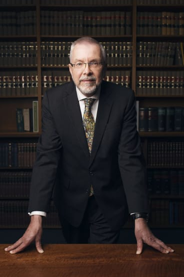 Justice Brian Preston, chief judge of the Land and Environment Court of NSW.