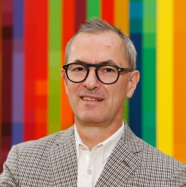 Director Michael Brand says self-generated revenue allows the Art Gallery of NSW to continue to offer free entry.