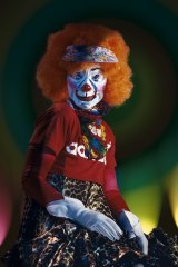Cindy Sherman, Untitled #418, from the Clowns series.