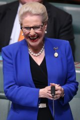 Bronwyn Bishop on Wednesday.