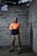 Construction worker Greg van Borssum.