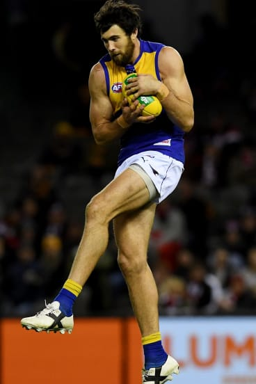 Josh Kennedy's ankle had given him trouble during training sessions.
