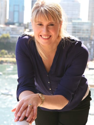 Jacqueline Harvey, author of the best selling <i>Alice-Miranda</i> novels.