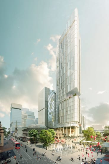 Last month Parramatta Council voted to change the use of the tower from residential to commercial.