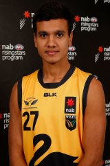 Highly rated South Fremantle product Callum Ah Chee was WA's top draft pick - he heads to the Suns