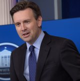 White House press secretary Josh Earnest has criticised Donald Trump  for refusing to publicly accept Russia's role in the leak of Hillary Clinton's emails.
